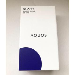 AQUOS - SHARP AQUOS sense2 SH-M08 ホワイトシルバー