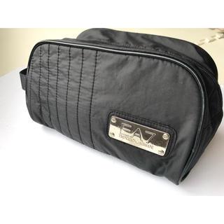 Emporio Armani - エンポリオアルマーニ EA7 ブラック セカンドバッグ