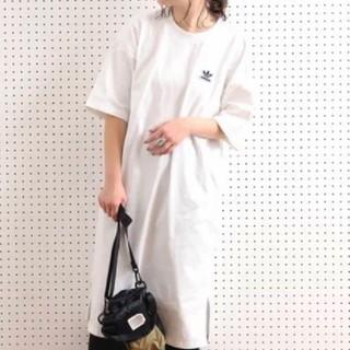 adidas - 新品タグ付★アディダスオリジナルス★トレフォイルドレス★Tシャツワンピース