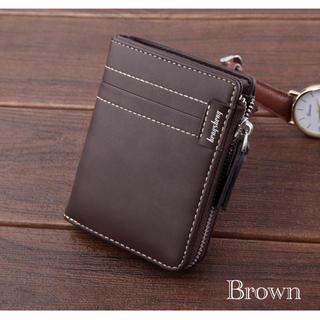 財布 二つ折り財布 レザー 札入れ 小銭入れ カード入れ 名刺入れ ブラウン(折り財布)