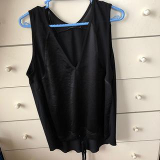 ザラ(ZARA)のZARA異色素材カットソー(Tシャツ(半袖/袖なし))