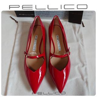 PELLICO - HERS掲載★新品 ペリーコ メリージェーン パンプス 37 定価53900円