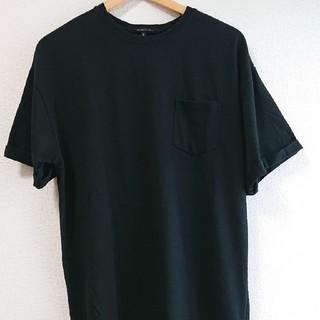 Tシャツワンピース*ブラック*Lサイズ