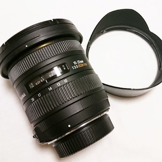 シグマ(SIGMA)のSIGMA 広角レンズ 10-20mm F3.5 EX DC HSM フード付き(レンズ(ズーム))