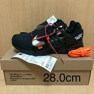 OFF-WHITE - THE 10 NIKE AIR PRESTO OFF WHITE 28.0cm