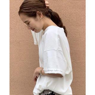 トゥデイフル(TODAYFUL)のTODAYFUL  Cuff Print T- Shirts(Tシャツ(半袖/袖なし))