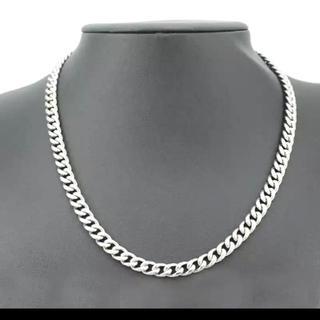 スラッシャー(THRASHER)の喜平ネックレス hiphop ブリンブリン 8mm ストリートファッション(ネックレス)