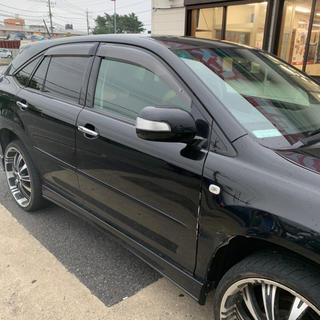 トヨタ - ハイブリッド ハリアー4WD 黒 コミ50万