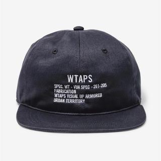 W)taps - WTAPS 20SS COTTON TWILL CAP ブラック