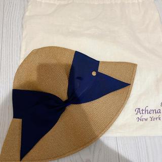 BARNEYS NEW YORK - Athena New York アシーナ ニューヨーク リサコ 麦わら帽子