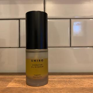シロ(shiro)のみず様専用シロ shiro  タマヌオイルインセラム(美容液)