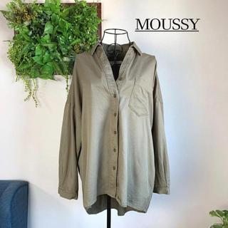 moussy - 【美品】MOUSSY マウジー 長袖シャツ