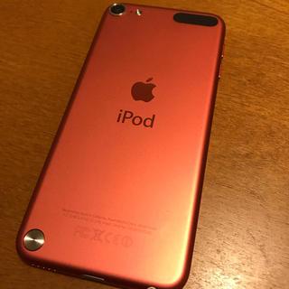 アイポッドタッチ(iPod touch)の【美品】iPod touch 第5世代 ピンク(スマートフォン本体)