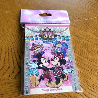 Disney - 即購入ok!!! 東京ディズニーランド 37周年 メモ帳