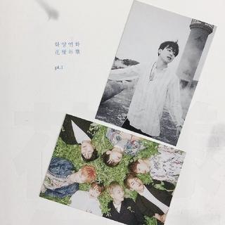 防弾少年団(BTS) - 🌈花様年華pt.1  韓国版&日本仕様アルバム購入特典トレカ ジミン オール