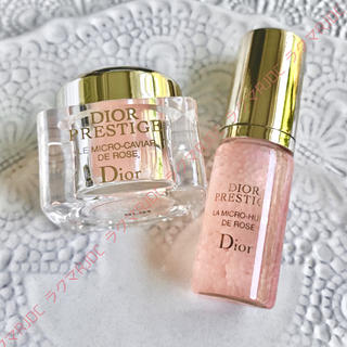 ディオール(Dior)の【2製品7,847円分】ディオール プレステージ ユイルドローズ ローズキャビア(ブースター/導入液)