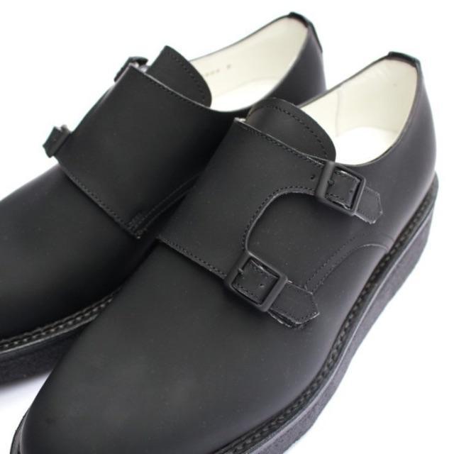 KIDS LOVE GAITE(キッズラブゲイト)のKIDS LOVE GAITE キッズラブゲイト ダブルモンクシューズ サイズ8 メンズの靴/シューズ(ドレス/ビジネス)の商品写真