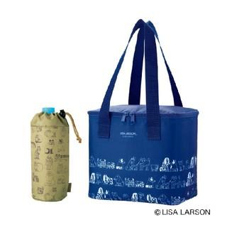 Lisa Larson - 大人のおしゃれ手帖 7月号付録 リサ・ラーソン 保冷バッグ&ペットボトルホルダー