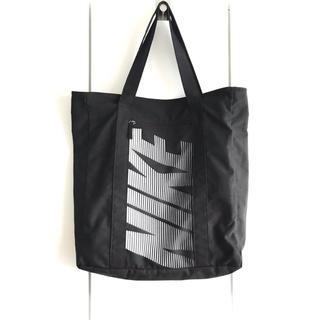 NIKE - 【希少】NIKE/ナイキ『ビッグロゴトートバッグ』エコバッグ/スポーツバッグ/黒