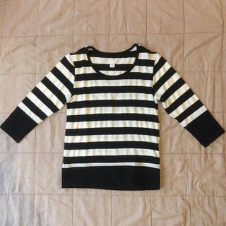 ボーダー Tシャツ トップス nascita (Tシャツ(長袖/七分))