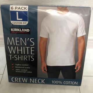 コストコ - KIRKLAND カークランド メンズ 白Tシャツ  Lサイズ
