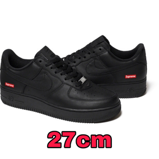 Supreme - 27cmブラックSupreme Nike Air Force 1 Low