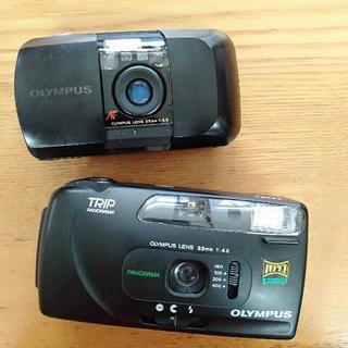 オリンパス(OLYMPUS)のOLYMPUS フィルムカメラ (ジャンク品)(フィルムカメラ)