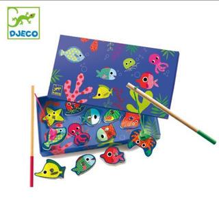 BorneLund - djeco ジェコ おもちゃ 魚釣り フィッシングゲーム 知育