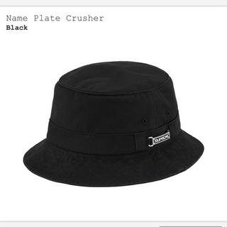 Supreme - Supreme Name Plate Crusher Black M/Lサイズ