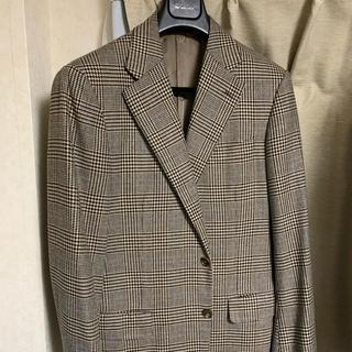 美品 Belvest ベルベスト カシミア100% グレンチェック ジャケット(テーラードジャケット)