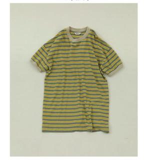 トゥデイフル(TODAYFUL)のトゥデイフル  Border Boyfriend T-Shirts(Tシャツ(半袖/袖なし))
