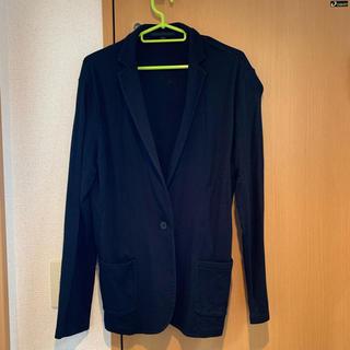 ユニクロ(UNIQLO)のUNIQLO ジャケット 黒(テーラードジャケット)