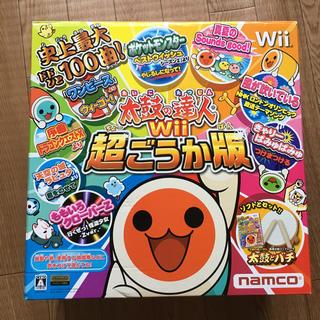 Wii - 太鼓の達人Wii 超ごうか版 コントローラー 太鼓とバチ 同梱版