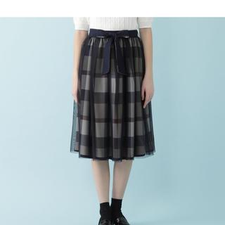 BURBERRY BLUE LABEL - ブルーレーベルクレストブリッジ 店舗限定 リバーシブルスカート サイズ38