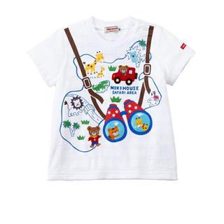 mikihouse - 【130サイズ】ミキハウス テーマパーク半袖Tシャツ