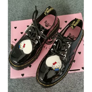 Dr.Martens - お勧め!UK5 Dr.Martens x Hello kitty  厚底 男女