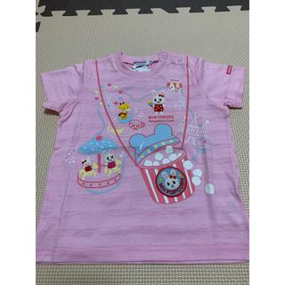 mikihouse - 【90サイズ】ミキハウス テーマパーク半袖Tシャツ