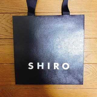 シロ(shiro)のシロ ショップ袋 SHIRO(ショップ袋)