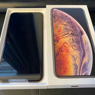 iPhone - iPhone Xs Max GOLD ゴールド 256GB simフリー