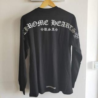 クロムハーツ(Chrome Hearts)の クロムハーツ Tシャツ アーチ スクロール 長袖 M(Tシャツ/カットソー(七分/長袖))