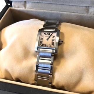 Cartier - 【最終値下げ】カルティエ タンクフランセーズ ピンクシェル 腕時計 レディース