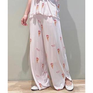 gelato pique - ジェラートピケ♡今季♡アイスクリーム柄 ロングパンツ ピンク
