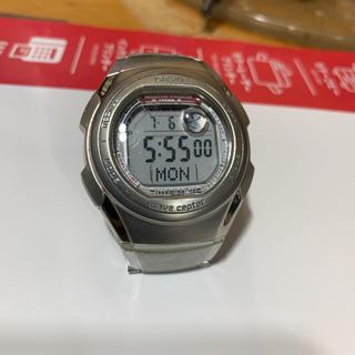 電波時計 カシオ ウェブセプター 完動品(腕時計(デジタル))