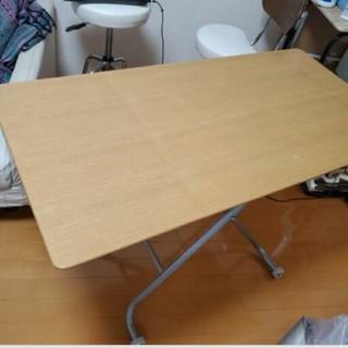 ニトリ(ニトリ)の【めぐママ様専用】ニトリ 昇降 テーブル(ダイニングテーブル)