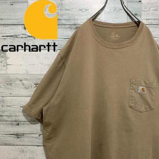 carhartt - 【超人気】カーハート☆ロゴタグ ビッグサイズ ポケットTシャツ 半袖シャツ
