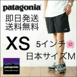 patagonia - 送料無料 XSサイズ ブラック パタゴニア メンズ バギーズ ショーツ 5インチ