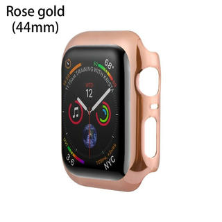 アップルウォッチ(Apple Watch)のApple Watch 4 5 44mm ケース カバー ローズゴールド(腕時計(デジタル))