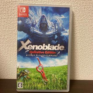 Nintendo Switch - switch「ゼノブレイド ディフィニティブエディション」
