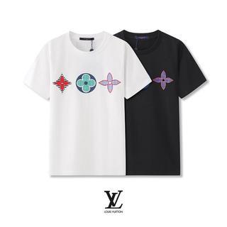 LOUIS VUITTON - 【2枚8000円送料込み】LOUIS VUITTON ロゴ プリント Tシャツ