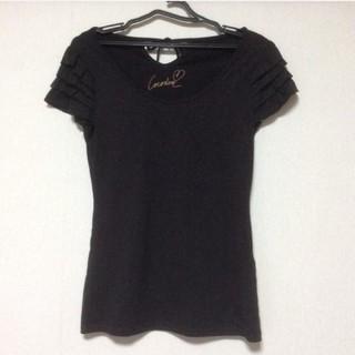 ココディール(COCO DEAL)の美品 ココディール フリルカットソー(Tシャツ(半袖/袖なし))
